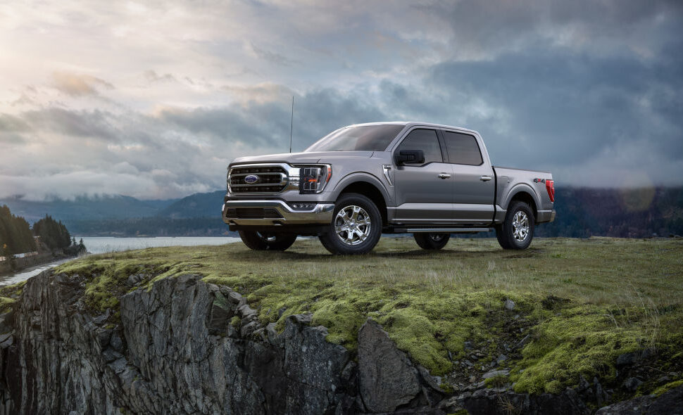 All-New F-150 Platinum Ford Truck 2021